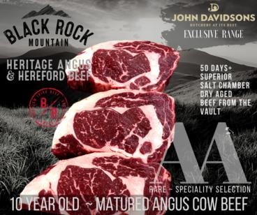 Ribeye of Angus Cow Beef
