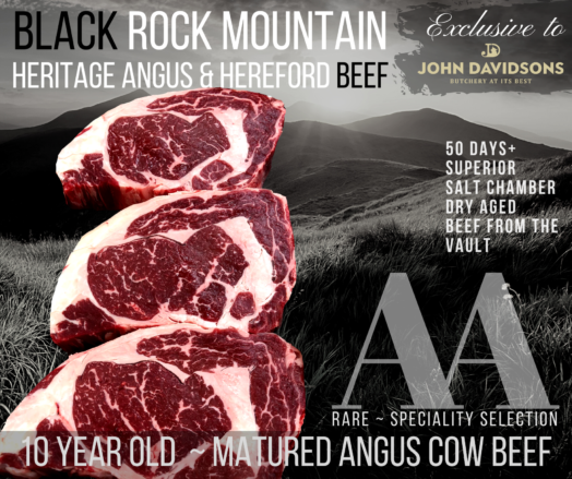 Ribeye of Angus Cow Beef
