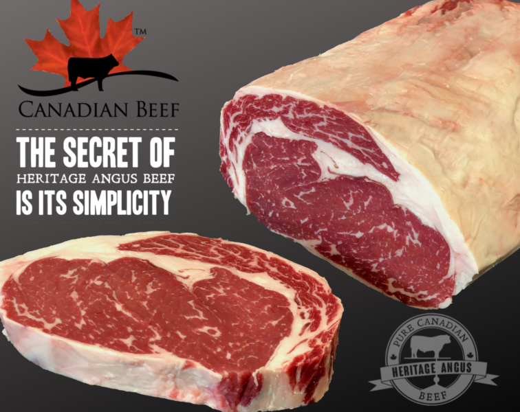 Ribeye Steak Canadian Angus