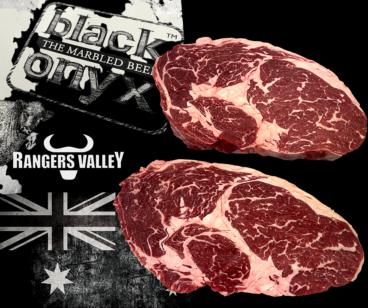 Ribeye Steak of Black Onyx