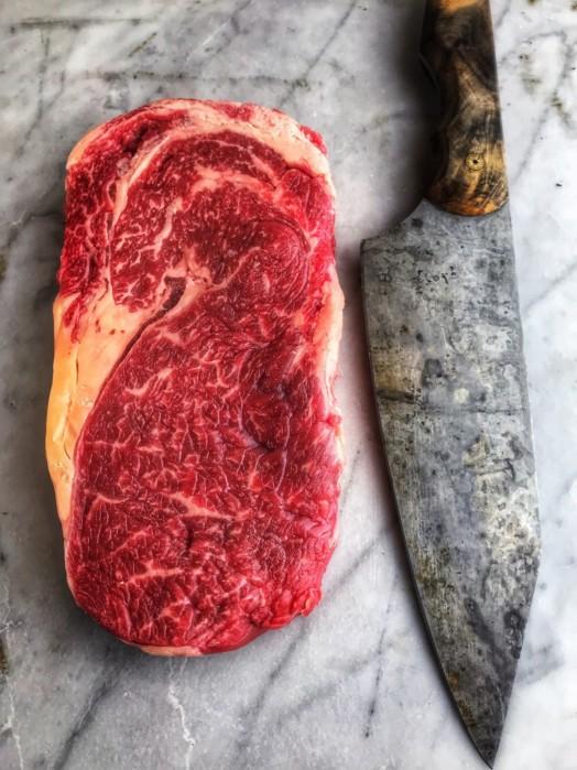 Ribeye Steak of Hereford Cow