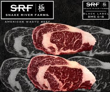 Ribeye Steak Snake River Farms Wagyu Black Label