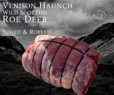 Roe Deer Venison Haunch Rolled Roast