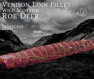 Roe Deer Venison Loin Fillet