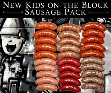 BBQ Sausage Taster Pack ~ New Kids on the Block