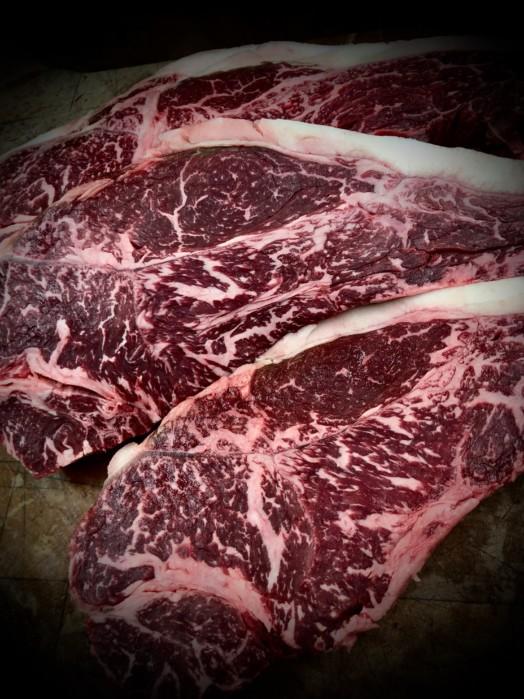 Scottish Wagyu 'Vein End' Sirloin Steaks