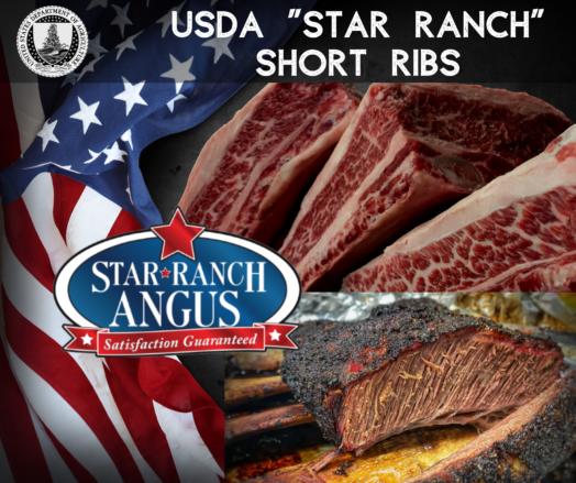 Short Ribs USDA Star Ranch