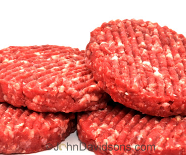 Steak Burgers ~ Quarter-pounders Pack of 4