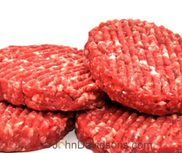 Steak Burgers ~ Quarter-pounders Pack of 4