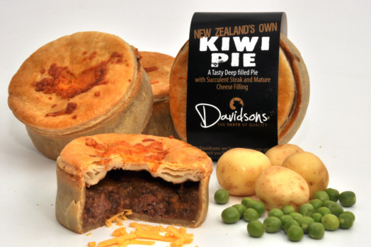Steak & Cheese Kiwi Pie