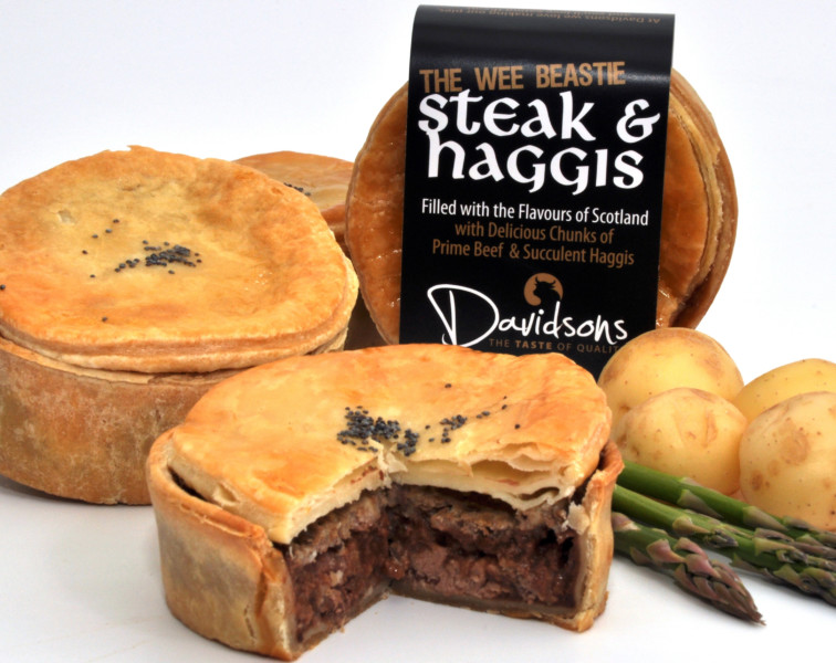 Steak & Haggis Pie