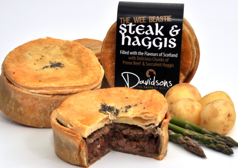 Steak & Haggis Pie - Haggis - John Davidsons - The Online ...