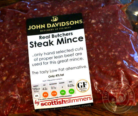 Steak Mince ~ LOW FAT