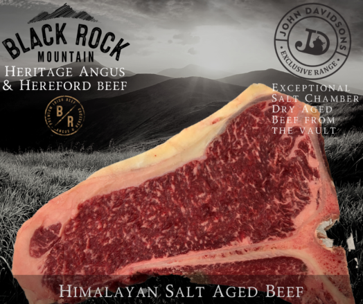 T-Bone Steak Extra Matured Scottish