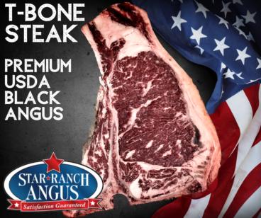 T Bone Steak Star Ranch USDA