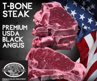 T Bone Steak Creekstone Farms