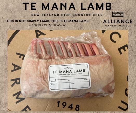 Te Mana Rack of Lamb