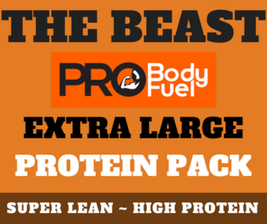THE BEAST ~ Extra Large Protein Pack