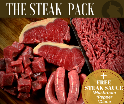THE STEAK PACK ~ Promotion