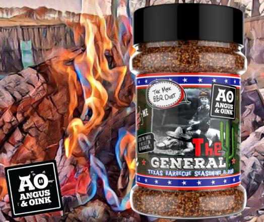 The General - Tex Mex BBQ Dust