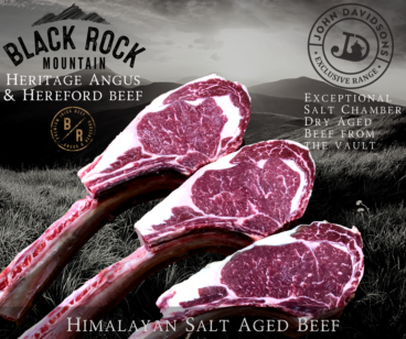 Tomahawk Steak Angus & Hereford Black Rock Mountain
