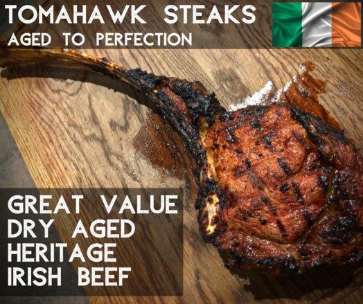 Tomahawk Steak Irish