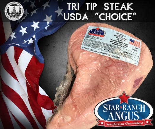 Tri Tip Star Ranch USDA