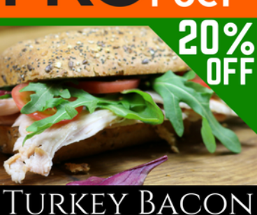 Turkey Bacon ~ LOW FAT ~ *BULK BUY*
