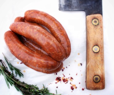 Turkey Barbecue Sausage ~ LOW FAT