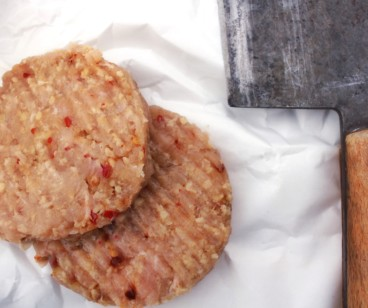 Turkey, Cumin and Chilli Burger ~ LOW FAT