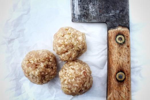 Turkey Meatballs ~ LOW FAT