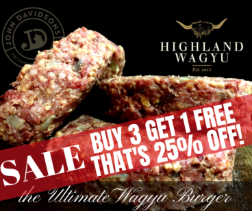 Ultimate Deluxe Wagyu Steak Burgers