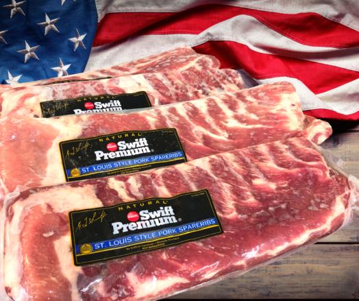 US St Louis Pork Ribs