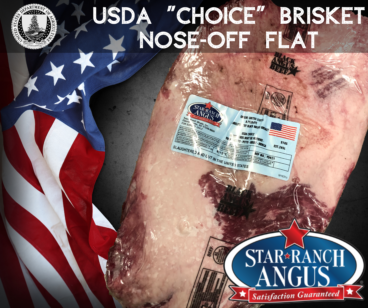 USDA Choice Star Ranch Flat Brisket