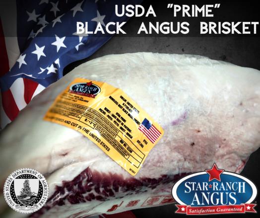 USDA Prime Star Ranch Brisket