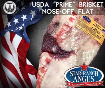 USDA Prime Star Ranch Flat Brisket