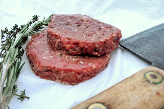 Venison and Cranberry Burger ~ LOW FAT
