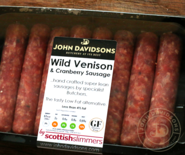 Venison and Cranberry Sausage