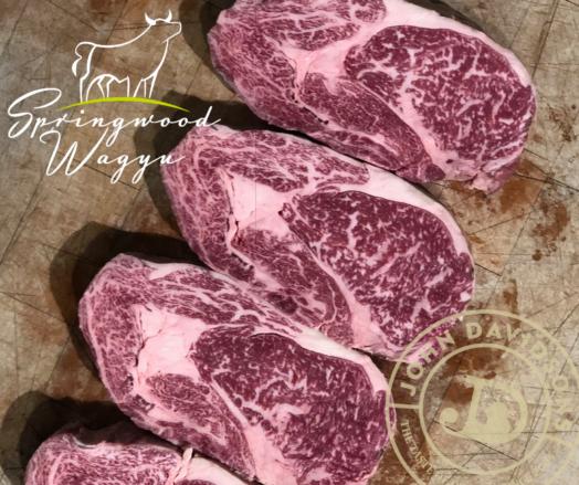 Wagyu Ribeye Steak Springwood