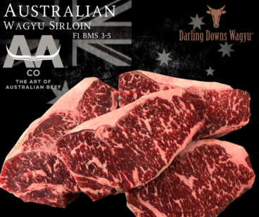 Wagyu Sirloin Steaks F1 Australian