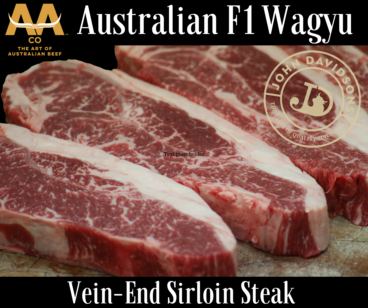 Wagyu Vein-End Sirloin Steak F1 Australian