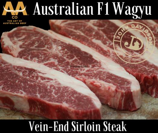 Wagyu Vein-End Sirloin Steak F1 Australian