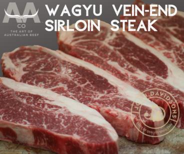 Wagyu Vein-End Sirloin Steak