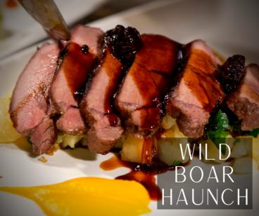 Wild Boar Haunch